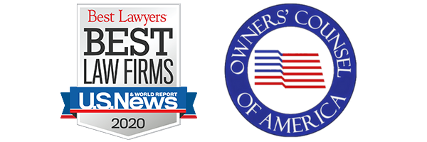 Best Lawyers Best Law Firms 2020 - Owner's Counsel of America